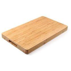 Drewniana deska do krojenia bamboo | prostokątna | 330x250x(h)40mm marki Hendi