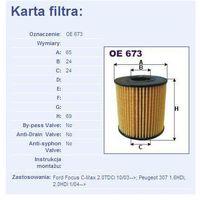 Filtr oleju oe 673 od producenta Filtron