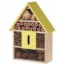 Domek dla owadów żółty, 22 x 9 x 30 cm, 693349