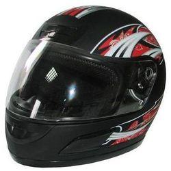 Kask motocyklowy MOTORQ Torq-i5 Integralny (Rozmiar XXL) Czarny + Zamów z DOSTAWĄ JUTRO!