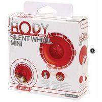 Zolux Kołowrotek Mini RodyLounge Silent Wheel czerwony [205941]