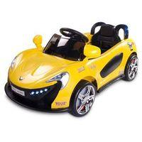 Caretero Toyz Samochód na akumulator dziecięcy Aero żółty yellow, Aero