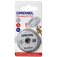 Zestaw tarcz tnących Dremel 456 średn. 38x3,2 mm, 5 szt. (8710364042821)