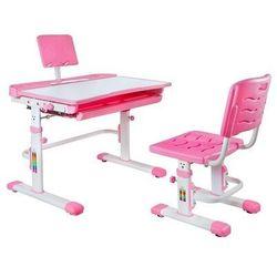 candy różowy - biurko dziecięce + krzesełko marki Unique