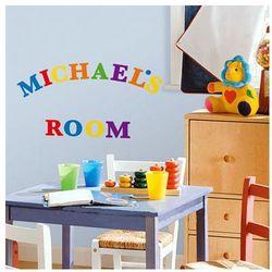 Roommates naklejki ozdobne literki wyprodukowany przez Room mates
