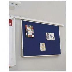 Tablica tekstylna do systemu szynowego, 1200x900 mm