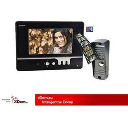 Zestaw wideodomofonowy vid-yt-1035 fides memo 7 cali + darmowy transport! marki Orno