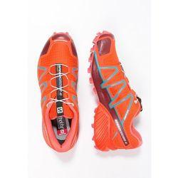 Salomon SPEEDCROSS 4 Obuwie do biegania Szlak tomato red/coral punch/blue jay - produkt z kategorii- obuwie do