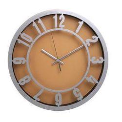 Atrix Zegar ścienny arabic pomarańcz
