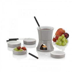 zestaw do fondue czekoladowego, szary, 0,4 l (4025457121319)