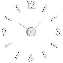 Zegar ścienny sticker silver by marki Jvd