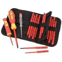 Draper tools zestaw wkrętaków izolowanych z testerem napięcia, 18 cz.