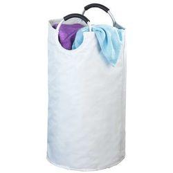 Biały kosz na pranie JUMBO - 69 litrów, WENKO, B007HS4Q4E