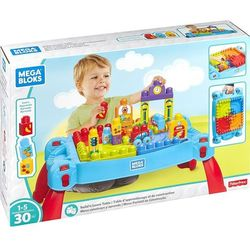 Mattel Zabawka mega bloks stolik z klockami niebieski + darmowy transport!