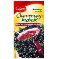 30g owocowy kubek kisiel smak czarna porzeczka marki Delecta