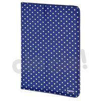 Hama Etui  portfolio strap polka dot 7-8 cali niebieski
