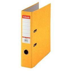 ESSELTE Segregator A4 RAINBOW z mechanizmem dźwigniowym 75mm, żółty