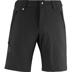 Spodnie Wayfarer Short Black, spodnie męskie Salomon