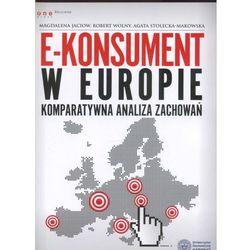 E-konsument w Europie komparatywna analiza zachowań, pozycja wydana w roku: 2013