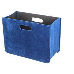 gazetnik excelence blue wys.30,5cm, 40,5×19,5×30,5cm marki Dekoria
