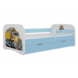 Łóżko dla dziecka, barierka, babydreams, ciężarówka, niebieskie (5903271988853)