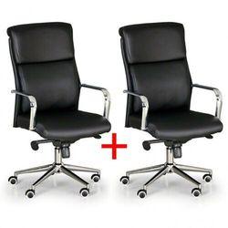 Krzesło biurowe viro 1+1 gratis, czarny marki B2b partner