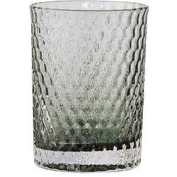 Bloomingville Kubek łazienkowy, szare szkło -