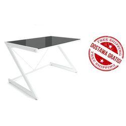 Biurko dd z-line - computer desk white, negocjuj cenę marki Unique
