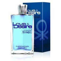 Love&Desire Feromone for Men Woda toaletowa zawierająca feromony dla mężczyzn 50 ml, towar z kategorii: Fer