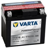 Akumulator motocyklowy Varta YTZ7S-BS 5Ah 120A