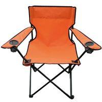 Krzesełko wędkarskie Oxford, pomarańczowy