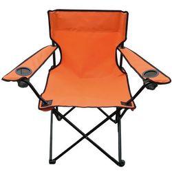 Krzesełko wędkarskie Oxford, pomarańczowy (krzesełko wędkarskie) od 4HOME