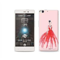 Etuo.pl Fantastic case - allview x1 soul - etui na telefon fantastic case - czerwona suknia