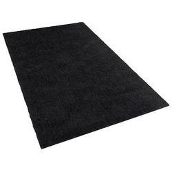 Beliani Dywan czarny 160 x 230 cm shaggy demre