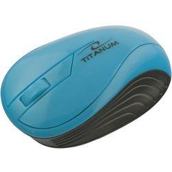 titanum mysz bezprzewodowa optyczna tm115t neon turkusowa wyprodukowany przez Esperanza