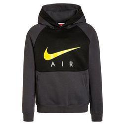 Nike Performance AIR Bluza z kapturem anthracite/black/electrolime - produkt z kategorii- Bluzy dla dzieci