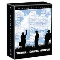 Kolekcja Petera Weira: Truman show, Gallipolli, Świadek (3xDVD) - Peter Weir - produkt z kategorii- Dramaty,