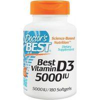 Doctor's Best Best Witamina D-3 5000IU 180kp