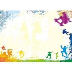 Tablica suchościeralna drukowana 011 marki Deco-strefa – dekoracje w dobrym stylu