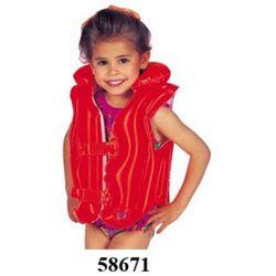 Kamizelka 58671 do pływ.czerwona dla dzieci /3-6 lat/ - z kategorii- pozostałe poza domem
