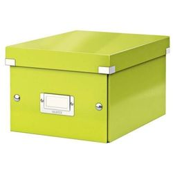 Esselte Pudło click & store małe a5 zielone 6043 (4002432398096)