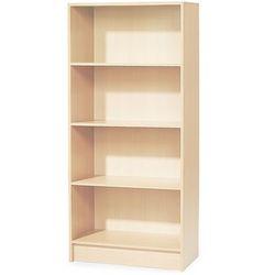 Regał biurowy adeptus, 4 półki, 1725x805x415 mm, laminat, brzoza marki Aj produkty