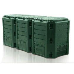 Kompostownik MODULE COMPOGREEN 1200l Zielony IKSM1200Z / IIKSM1200Z / PROSPERPLAST - ZYSKAJ RABAT 30 ZŁ