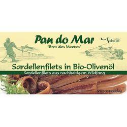 Anchois (sardele) w bio oliwie z oliwek 6x50g od producenta Pan do mar