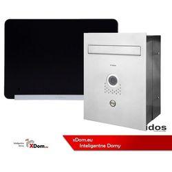 Zestaw s551-skp skrzynka na listy z wideodomofonem, monitor 7'' wideodomofonu m690bs2 marki Vidos