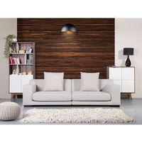 Sofa beżowa - kanapa - 2 osobowa sofa tapicerowana - CLOUD (7081458139293)