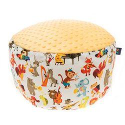 Cuddly Zoo, Orkiestry dęte, Sunshine, duża pufa - produkt z kategorii- Pozostałe meble do pokoju dziecięcego