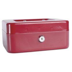 Kasetka na pieniądze DONAU średnia - czerwona (5901498037705)
