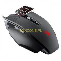 A4tech Mysz Bloody Commander ML160, laserowa, 17kl., 1 scroll, przewodowa (USB), czarna, 8200DPI, do gry, pamięć 160 kB