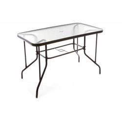 Stół ogrodowy szklany na taras 110x60x72 cm